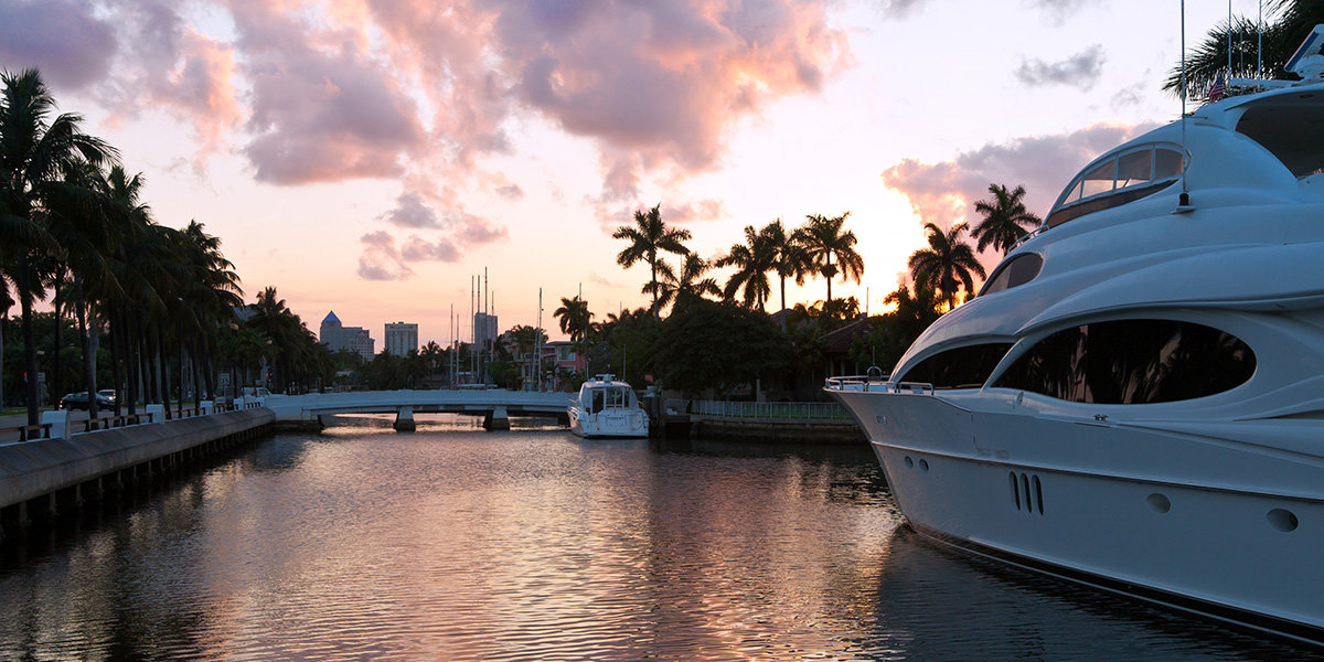 Waterfront Real Estate in Palm Beach